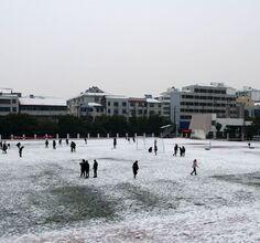 2018年初冬的第一场雪